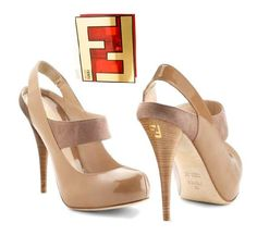 beautiful and stylish shoes from Fendi