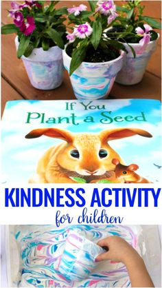 Teach your kids about the importance of kindness with this fun Spring Acts of Kindness Activity and lesson. Kindness Crafts for Preschoolers and Kindergarten using kindness books and Plant Crafts for Kids. The Best Random Acts of Kindness Ideas for Kids and Adults #kindness #craftsforkids