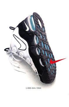 Nike Air Max Uptempo.
