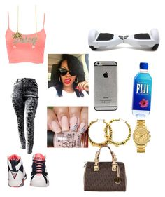 """""""Otfotd"""" by trillestquenn ❤ liked on Polyvore featuring Pull&Bear, Juicy Couture, Lacoste and MICHAEL Michael Kors"""