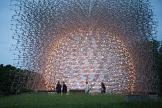 AM2 News: Wolfgang Buttress' Hive pavilion creates buzz in London's Kew Gardens