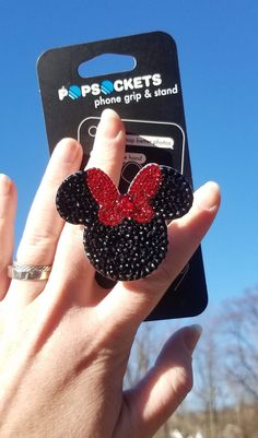 Cell Phone Holder Desk Stand Cell Phone Holders To Wear Cell Phone Grip, Phone Grip And Stand, Cell Phone Holder, Cute Cases, Cute Phone Cases, Iphone Cases, Iphone 6, Minnie Mouse, Cute Popsockets