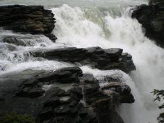 Waterfalls in Jasper, Canada