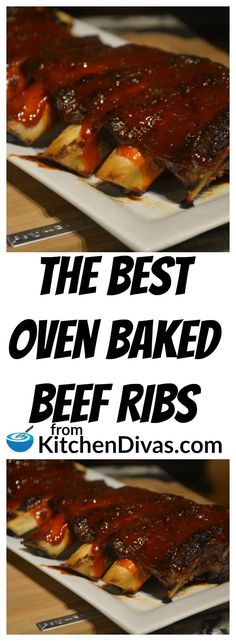 These ribs are fantastic! This recipe is called The Best Oven Baked Beef Ribs for a reason. Fall off the bone, tender and melt in your mouth. This recipe is a hit every time!