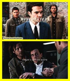 Sam, Dean, and Henry Winchester.