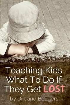 Teaching Kids What To Do If They Get Lost