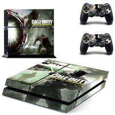 Call of Duty Infinite Warfare ps4 skin decal for console and 2 controllers