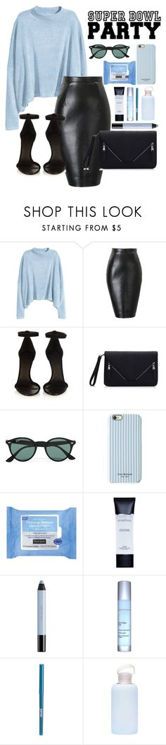 """Untitled #124"" by queentanya ❤ liked on Polyvore featuring H&M, Isabel Marant, Ray-Ban, Isaac Mizrahi, Neutrogena, Smashbox, shu uemura, Exuviance, jane and bkr"