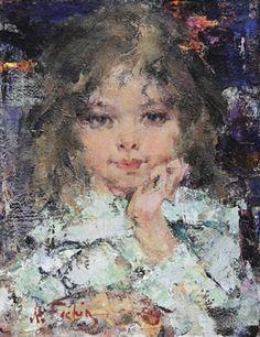 Young Girl, Nicholai Fechin