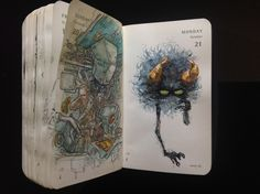 Number 294 of Kenneth Rocafort's 365 day sketch project.