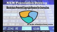 NEM Foundation Develop Blockchain Powered Copyright System for Journalis. Blockchain, Foundation, Reading, News, Word Reading, Foundation Series, Reading Books, Foundation Dupes, Libros