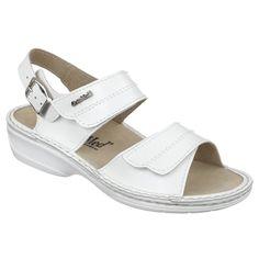 """Sandale ortopedice, profesionale, pentru femei, din piele naturala si captusite cu piele. Gama de marimi fabricate: 36-41. Calapod mai lat decat cel standard. Sandalele sunt reglabile pe picior: doua barete sunt prevazute cu velcro/""""arici"""" /""""scai"""", iar bareta de pe calcai este prevazuta cu catarama. Talpile sunt fabricate din poliuretan, sunt ortopedice si sunt cusute in intregime. Sandalele sunt foarte usoare: greutatea la marimea 36 este de 210 grame/picior. Mary Janes, Sneakers, Shoes, Fashion, Sandals, Tennis, Moda, Slippers, Zapatos"""