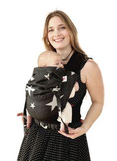 efd38adc1ce Baby carrier DIORITE STARS kokadi Flip Ring Sling