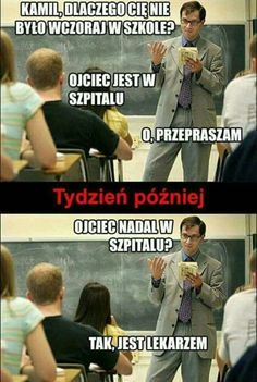 Trendy w kategoriach humor w tym tygodniu - Poczta Wtf Funny, Funny Cute, Funny Images, Funny Pictures, Polish Memes, Sad Texts, Weekend Humor, Funny Mems, Donia