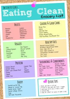 Clean Eating Grocery List - the Basics of Meal Prepping & How to Meal Prep for a. - Clean Eating Grocery List – the Basics of Meal Prepping & How to Meal Prep for a week of healthy - Clean Eating Grocery List, Grocery Lists, Clean Eating Recipes, Healthy Recipes, Eating Healthy, Eating Clean, Easy Recipes, How To Eat Healthy, Locarb Recipes