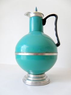 Items similar to EMERALD - Turquoise Green Very Old and Rare Chinese Thermo on Etsy