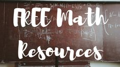 Free Homeschooling Resources - Math