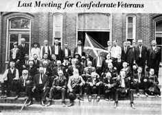 Last Meeting For Confederate Veterans Confederate States Of America, America Civil War, American War, American History, Southern Heritage, Us History, Black History, Civil War Photos, Military History