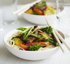Beef & orange stir-fry