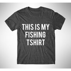 This Is My Fishing Tshirt Womens Tee Womens Graphic Tshirt Womens... ($14) ❤ liked on Polyvore featuring tops, t-shirts, black, women's clothing, cotton shirts, fluorescent t shirts, neon shirts, graphic t shirts and t shirts