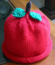 """Gonna make this for someone, only in bright red and I'm adding little green """"seeds"""" to make it a strawberry!"""
