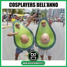 Ecco i #cosplayers dell'anno! Seguici su #youtube! #avocado #bastardidentro www.bastardidentro.it