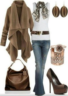 Latest Casual Winter Fashion Trends Ideas 2013 For Girls Women 4 Latest Casual Winter Fashion Trends & Ideas 2013 For Girls & Women.I like this outfit! Winter Fashion Casual, Fall Winter Outfits, Autumn Winter Fashion, Casual Winter, Autumn Style, Winter Dresses, Winter Wear, Spring Outfits Women Over 30, Fall Chic
