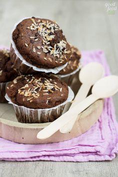 muffin cocco e cioccolato vegan
