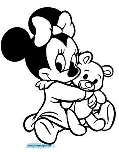 www.disneyclips.com funstuff images babyminnie-coloring11.gif