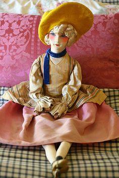 My French boudoir doll.