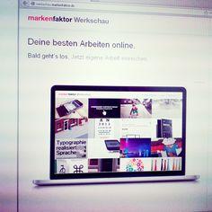 markenfaktor Werkschau – Deine besten Arbeiten online.  Jetzt einreichen: www.werkschau.markenfaktor.de/einreichen  #Werkschau #Design #Kreativität