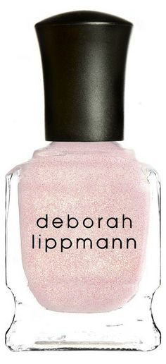 A great spring polish! Light pink with a hint of shimmer.