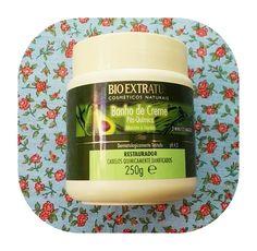 Melhores máscaras para low poo - banho de creme pós química Bio Extratus Hidratação low poo para cabelo cacheado e crespo Máscara para cabelos ressecados