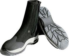 Fins, Footwear & Gloves Brilliant 3mm Neoprene Scuba Dive Boots Diving Booties Snorkeling Size 4 Side Zipper Water Sports