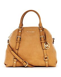 Michael Kors Extra large Bedford bowling satchel. I love roomy bags!