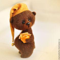 Сладких снов! - оранжевый,мед,мишка,тепло,Сны,спокойной ночи,милый,мимими