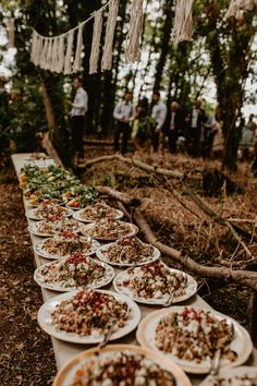 Wedding Catering | Macramé & Dreamcatcher Woodland Wedding at Upthorpe Wood | Camilla Andrea Photography Woods Wedding Ceremony, Wedding In The Woods, Wedding Catering, Wedding Menu, Wedding Ideas, Wedding Details, Catering Logo, Wedding Cakes, Wedding Foods