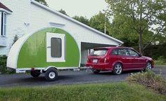 jean rene micro camper teardrop trailer project how to build your own 16   How to build your own ultra lightweight Micro Camper Teardrop Tra...