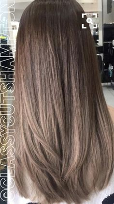 baby lights on dark brown hair