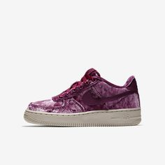 Find the Nike Air Force 1 LV8 Big Kids' Velvet Shoe at Nike.com.  Enjoy free shipping and returns with NikePlus.
