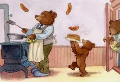 """""""Little Bear: Father's Flying Flapjacks"""" - Nick Jr. Maurice Sendak Little Bear Little Bear Cartoon, Maurice Sendak, Bear Art, Kids Shows, Children's Book Illustration, Childhood Memories, Childrens Books, Illustrators, Teddy Bear"""