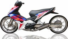 11 Best Modifikasi Motor Blade Images Blade Honda Motorcycles