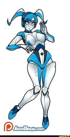 Robot Cartoon, Girl Cartoon, Cartoon Art, Robot Cute, Transformers Girl, Star Wars Bb8, Teenage Robot, Adventure Time Girls, Robots Characters