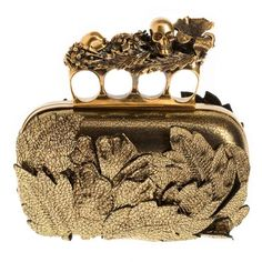 Alexander McQueen Clutch... Yes please! He is incredible. Ooo I want it!