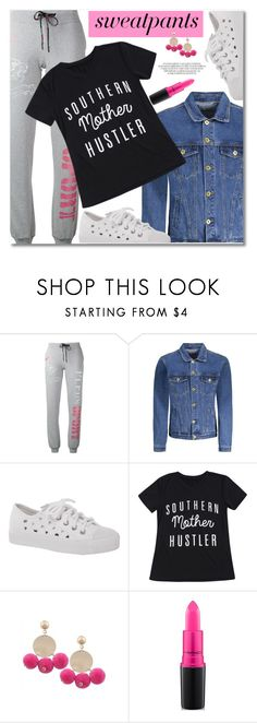 """Untitled #3173"" by svijetlana ❤ liked on Polyvore featuring Plein Sport and MAC Cosmetics"