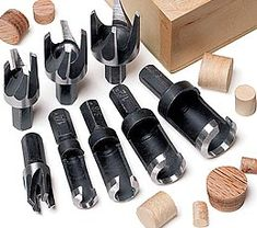 MLCS 8 piece plug cutter set #9160H