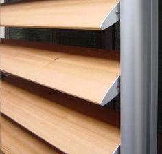Sunscreening system for facade Frangisole in legno - BELLOTTI