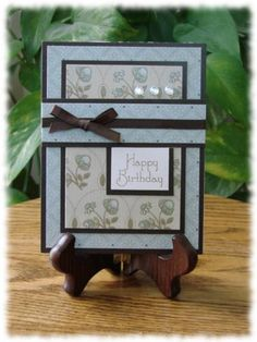 Simpy Elegant Birthday by gingercreek - Cards and Paper Crafts at Splitcoaststampers