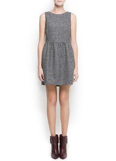 Flecked dress $79.99 at mango