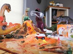 When Two Awesome Parents Made the Dinosaurs Go Wild!  Read more: http://www.rd.com/slideshows/dinosaurs-gone-wild/#ixzz3HSUHNhzs